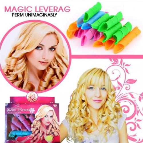 Magic Leverag Curlers - til flotte krøller - 20 stk