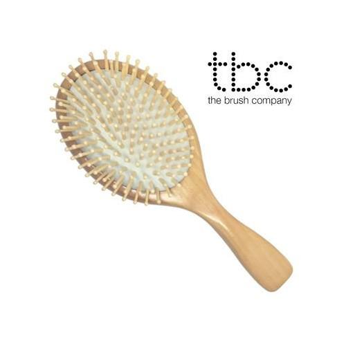 TBC® Hårbørste - Ahorn træ & Bøg