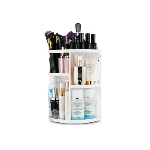 Avery® 360º Roterende Kosmetik Organizer - Hvid