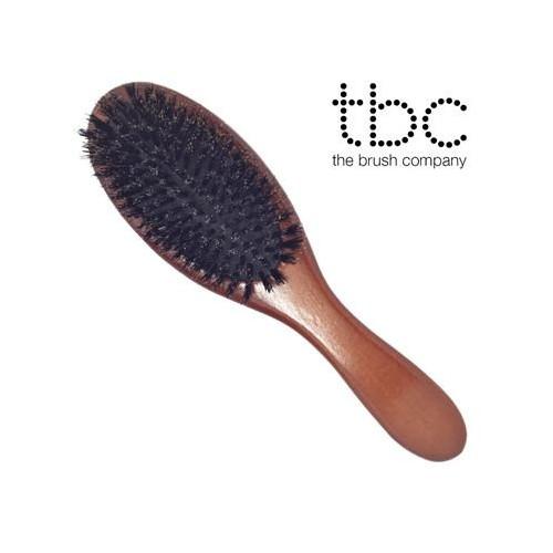TBC® Classic Boar Bristle Hårbørste - Vildsvinehår