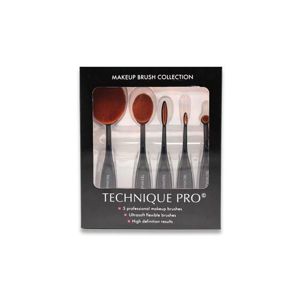 Technique PRO® Ovalbørster - 5 sæt