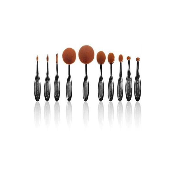 Technique PRO Ovalbørster til Makeup, 10 sæt