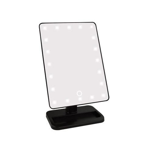 UNIQ Classic Hollywood Makeup Spejl LED - Sort