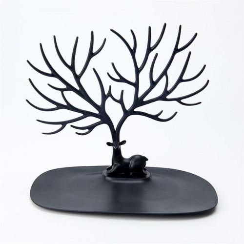 Smykketræ Hjort - Sort