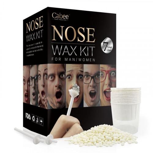Cabeee Næse voks Kit | Nose Wax Kit - fjern hår i næsen