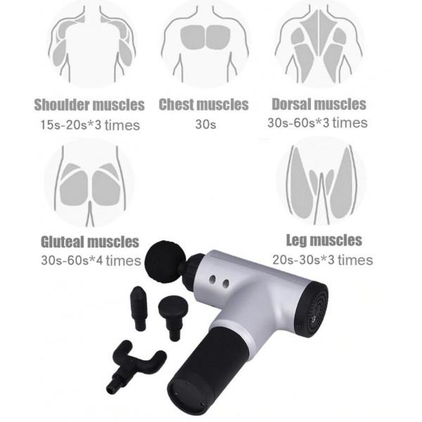 PRO Massage pistol - Effektiv Massage Af Muskler & Led