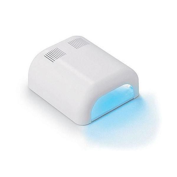 Negletørrer med UV lys - 36 watt (Hvid)