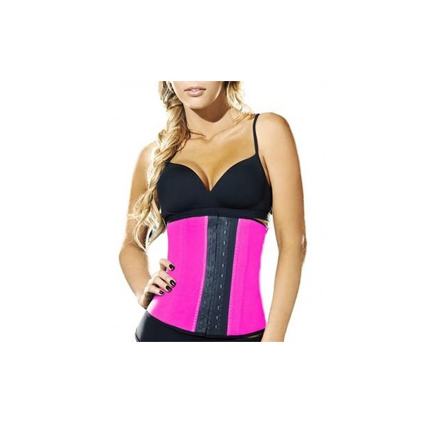 AVA® Latex Waist Trainer Pink
