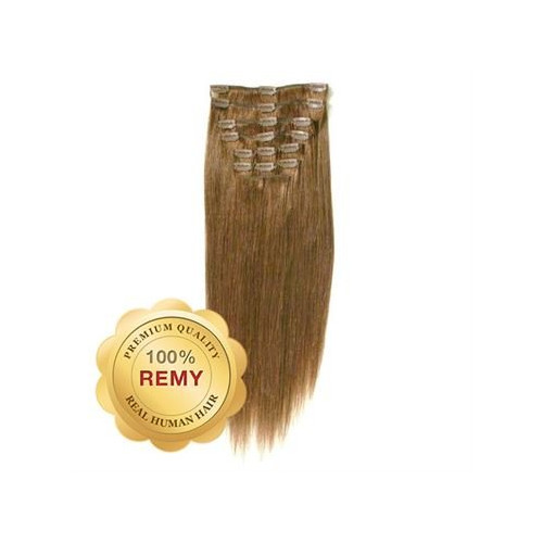 Remy Clip-on Extensions 12 Lysebrun 40 cm