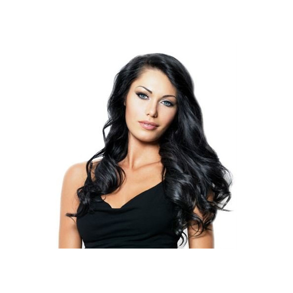 Remy Clip-on Extensions 1 Sort 40 cm