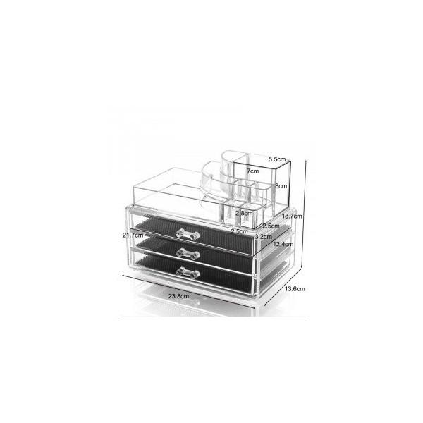 AVERY Kosmetik Organizer - 3 skuffer SF-1303