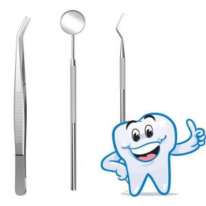 Professionelt tandhygiejnesæt - 3 dele