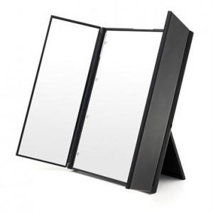 UNIQ® LED Trifold Vanity Makeup Spejl - Sort
