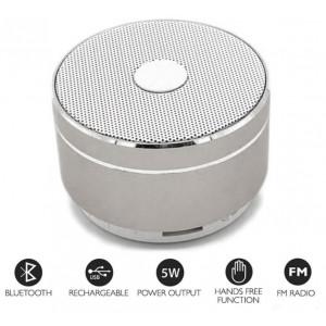 MUSIC Bluetooth Højtaler - Sølv