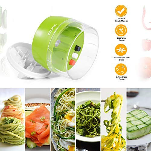 Spiralizer Veggie Grøntsagsskærer / Grøntsagshakker