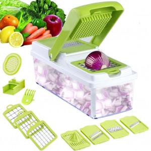 Multi-funktionelt Mandolinjern - frugt, ost og grøntsager