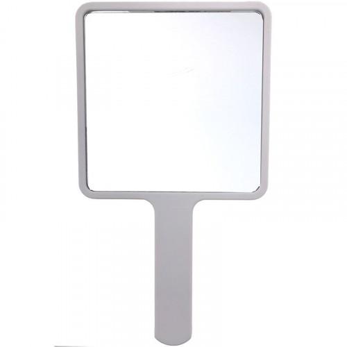 Håndholdt spejl, firkantet hvid - UNIQ