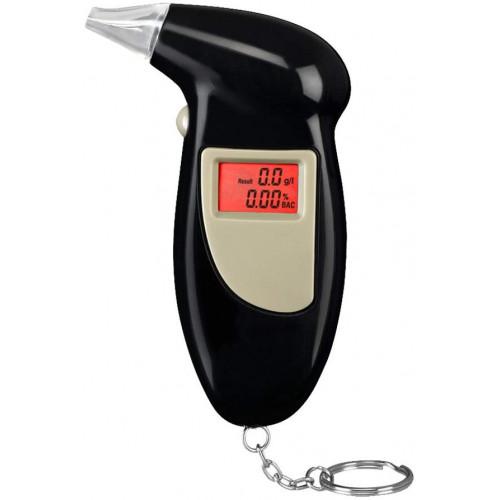 Alkometer med LCD display (alkoholtester / alkoholmeter)