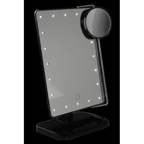 Gillian Jones Hollywood Spejl - LED spejl med 10x forstørrelse