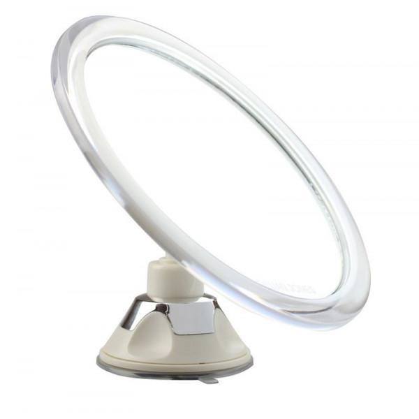 Gillian Jones Spejl med sugekop x10 forstørrelse - hvid