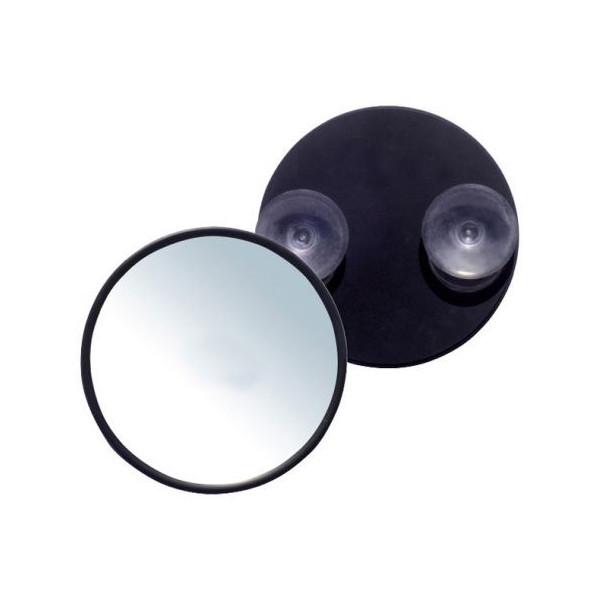 Makeup spejl 10X forstørrelse med sugekop, UNIQ - Sort