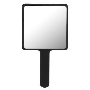 Håndholdt spejl firkantet sort uniq