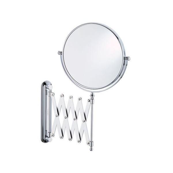 Kosmetikspejl m/ saksearm og 5x forstørrelse, UNIQ