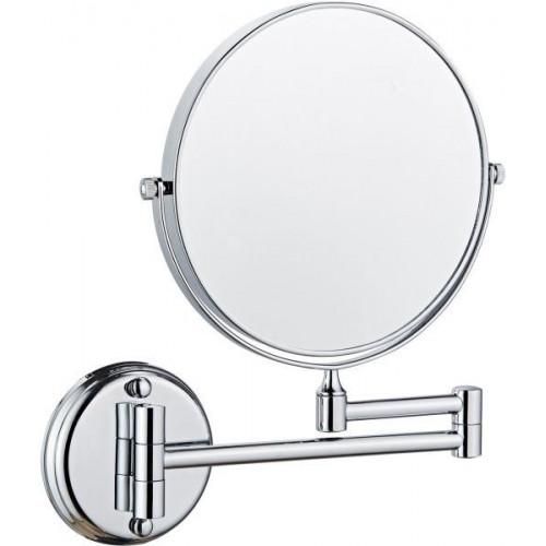 Badeværelses spejl m/ 5x forstørrelse og justerbar arm