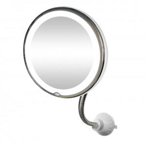 Flex Spejl med LED lys & 10x forstørrelse | My Flexible Mirror