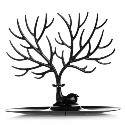 Oh my Deer smykketræ med hjort - sort