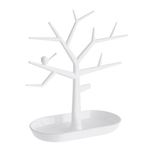 VITU Smykketræ med fugl - Hvid