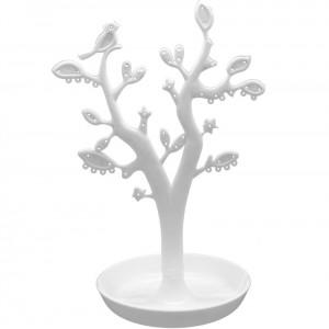 VITU Smykketræ med blade - Hvid (CTN005)