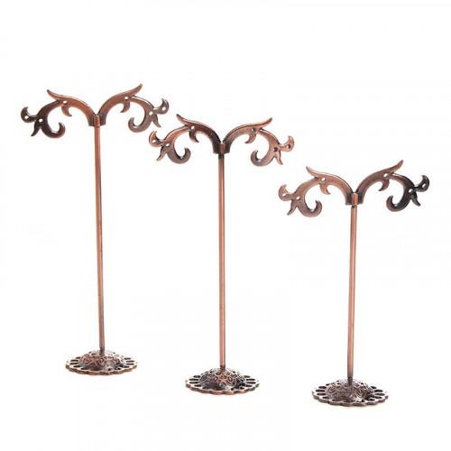 VITU Smykketræer til øreringe, 3 stk, bronze