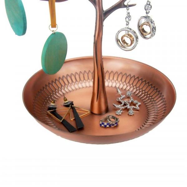 VITU Vintage smykketræ med 3 fugle (bronze)