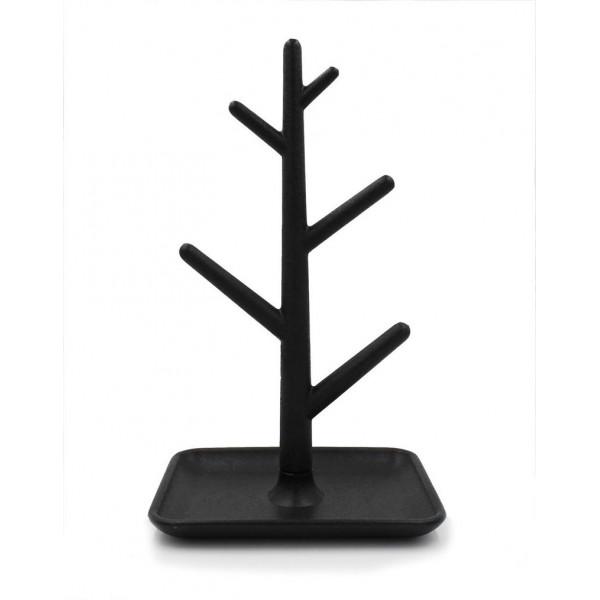 VITU Smykketræ, minimalistisk i sort