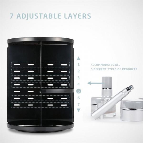 AVERY 360º Rotating Cosmetic Organizer, Sort