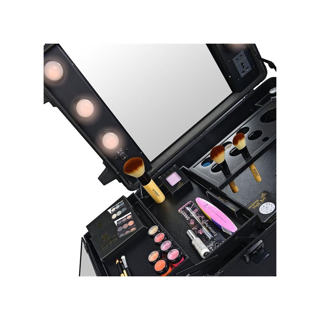 Picture of: Pro Studio2go Makeup Bord Med Hollywood Led Spejl Og