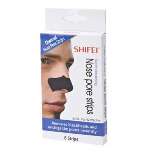 Charcoal Pore Næse Strips