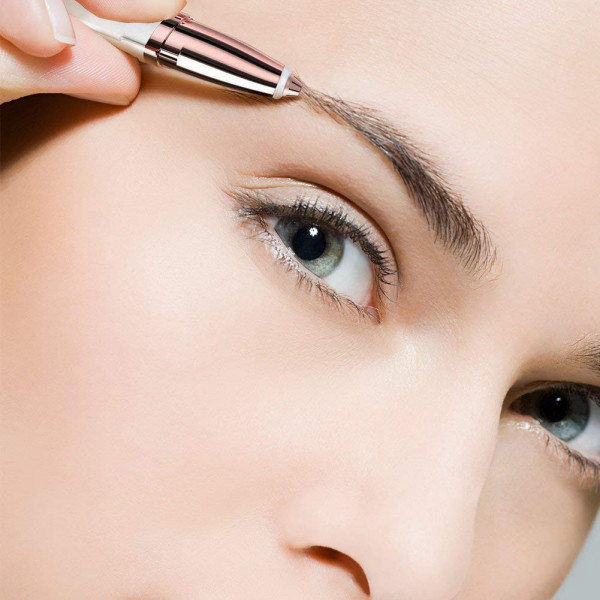 Hårfjerner til ansigtet med lys | Trim øjenbryn og ansigtshår
